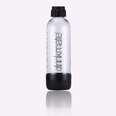 drinkmate氣泡水機專用1L水瓶(消光黑)-生活工場