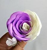 單朵價錢 ~ [ 紫白雙色 香水香皂玫瑰花] 最新技術 送禮新選擇