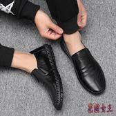 廚師鞋男防滑防水防油廚房專用鞋男生小黑鞋全黑色皮鞋上班工作鞋CM509【花貓女王】