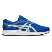 Asics Patriot 11 [1011A568-403] 男鞋 慢跑 運動 休閒 輕量 舒適 透氣 藍 銀