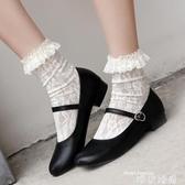 娃娃鞋夏季日系女鞋瑪麗珍單鞋復古森女學院風軟妹小皮鞋圓頭娃娃鞋 交換禮物