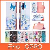 OPPO Reno4 Reno4 Pro 手機皮套 繽紛彩繪 掀蓋殼 保護套