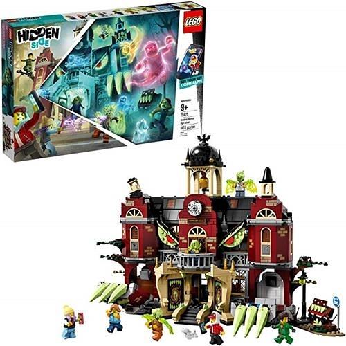 LEGO 樂高 Hidden Side Newbury Haunted High School 70425 Building Kit, New 2019 (1,474 Pieces)