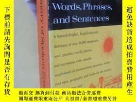 二手書博民逛書店英文原版罕見Dictionary of Spoken Spanish words,phrases,and sent