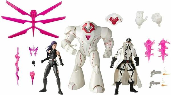 《 MARVEL 》漫威X戰警電影20週年紀念傳奇6吋人物組- 10 ( Psylocke+Fantomex+Nimrod ) / JOYBUS玩具百貨