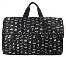 HAPI+TAS 摺疊大旅行袋 - 黑色交通運輸