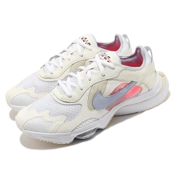 Nike 休閒鞋 Wmns Air Zoom Division 白 灰 奶茶 女鞋 復古慢跑鞋 氣墊 運動鞋 【ACS】 CK2950-100