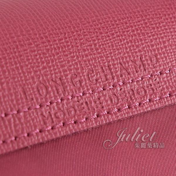 茱麗葉精品【全新現貨】Longchamp Le Pliage Neo 折疊厚尼龍兩用旅行袋.桃紅 大 #1630