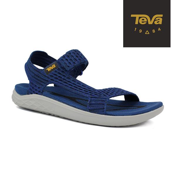 丹大戶外用品【TEVA】美國 男 Terra-Float 2 Knit Universal 輕量運動涼鞋 1091592NGRY 海軍藍