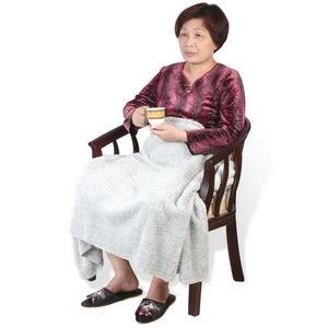 【源之氣】銀髮族竹炭超細纖維柔軟居家/靜坐毛毯 (75*150cm) RM-10507