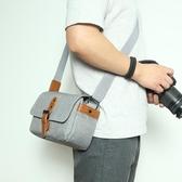 微單單反相機包文藝復古便攜側背男女索尼尼康富士M5080D200D佳能 夏洛特