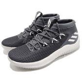 adidas 籃球鞋 Dame 4 Damian Lillard 灰 白 里拉得 簽名鞋 男鞋 4代【PUMP306】 AC8650