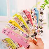便條紙-韓國小清新動物小貓咪 N次貼 貼紙 造型便條紙 便利貼 留言【AN SHOP】