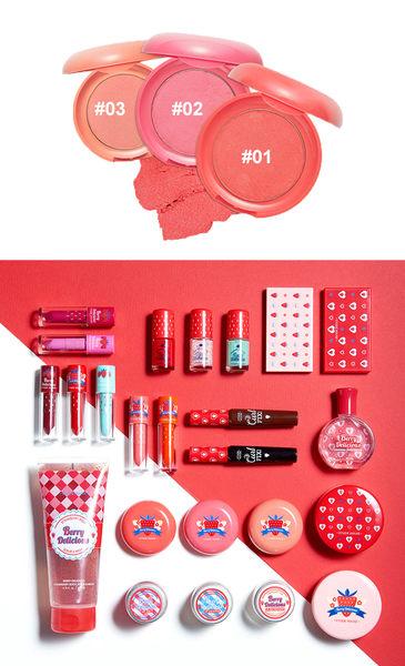 韓國 EUTDE HOUSE 莓好時光 糖霜炫染腮紅 6g 三色可選【小紅帽美妝】