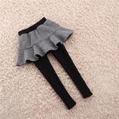 女童裙褲假兩件加絨加厚4女寶寶5兒童6冬季7歲女孩長褲打底褲冬款-ifashion