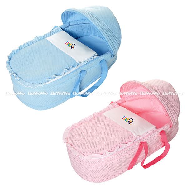 藍色企鵝 PUKU 印花睡箱 提藍 嬰兒床 30902 好娃娃