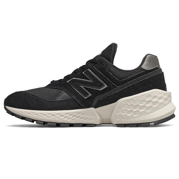 【現貨】New Balance 574 女鞋 休閒 Fresh Foam 透氣 麂皮 黑【運動世界】WS574ATH