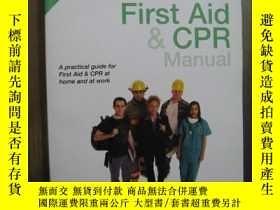 二手書博民逛書店FIRST罕見AID CPR MANUALY10980 FIRST AID CPR MANUAL FIRST
