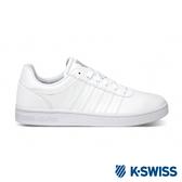 【超取】K-SWISS Court Cheswick S 時尚運動鞋-男-白