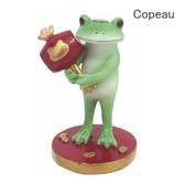 《齊洛瓦鄉村風雜貨》日本雜貨zakka copeau 青蛙小公仔擺飾 萬寶槌太的蛙蛙 新年小槌小青蛙太郎