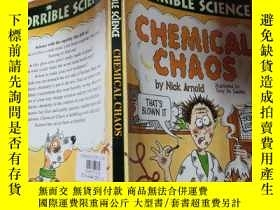 二手書博民逛書店chemical罕見chaos : 化學混沌..Y200392