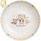 asdfkitty*日本san-x拉拉熊印度風陶瓷圓形深盤/咖哩盤/湯盤-日本正版商品