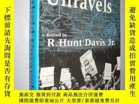 二手書博民逛書店Apartheid罕見Unravels by Richard H