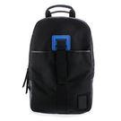 Calvin Klein CK素面尼龍休閒旅遊後背包(黑色)103327