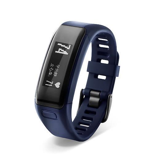 GARMIN 台灣國際航電 v?vosmart HR 都市藍 心率 智慧手環