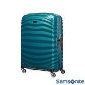 Samsonite新秀麗 30吋Lite Shock極輕Curv 四輪拉桿頂級硬殼箱(孔雀藍)
