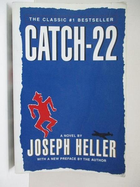 【書寶二手書T1/原文小說_HTC】Catch-22_Heller, Joseph