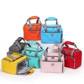保溫袋 保溫飯盒袋子便當手提包大號可愛鋁箔加厚餐小學生帶的容量兜日式