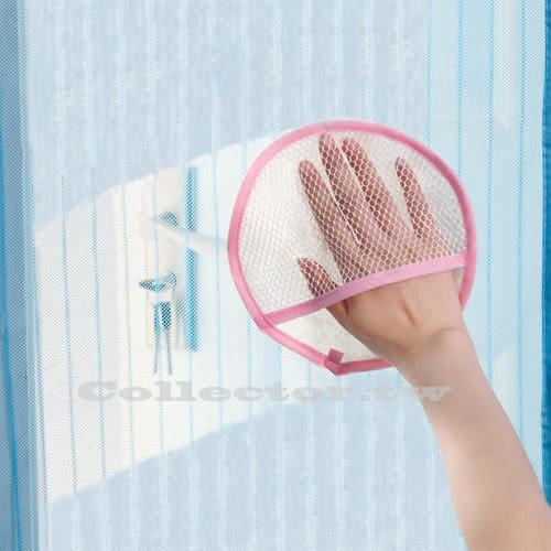 【超取199免運】圓形紗窗門簾加厚清潔布 不掉毛 吸水抹布 紗網除塵布 神奇紗窗地毯專用清潔刷布