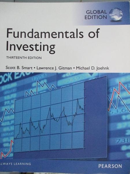 【書寶二手書T5/大學商學_YAS】Fundamentals of Investing_Lawrence J. Gitm