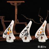 12孔陶笛成人初學者創意兒童小學生易入門中音ac調桃笛陶瓷樂器 PA3635『科炫3C』