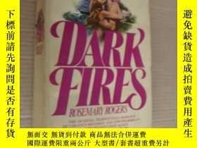 二手書博民逛書店Dark罕見fires (... sweet savage lo