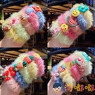 買二送一 兒童發飾毛絨發圈頭繩女童寶寶可愛扎頭發繩皮筋頭飾【淘嘟嘟】