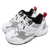 New Balance 慢跑鞋 608 NB IU 李知恩 白 灰 韓系 運動鞋 老爹鞋 女鞋【ACS】 WX608RG1D
