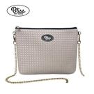 【現貨在台】泰國Bliss BKK包 編織紋灰 側背包 4款背帶可選 現貨供應中