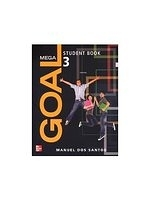 二手書博民逛書店《Mega Goal (3) with Audio CDs/3片