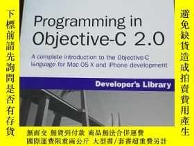 二手書博民逛書店Programming罕見in Objective-C 2.0