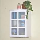 廚房高櫃 組合壁櫃掛牆壁櫥櫃 浴室吊櫃衛生間防水置物【C款 單門櫃(拉手在右)】