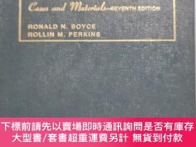 二手書博民逛書店Criminal罕見Law and Procedure:Cases and Materials 英文原版Y69