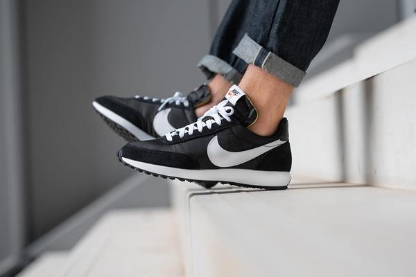 IMPACT Nike Air Tailwind 79 黑 白 麂皮 復古 慢跑鞋 487754-012