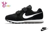 NIKE MD RUNNER 2 (PSV) 中童 運動鞋 輕量 慢跑鞋 P7014#黑色◆OSOME奧森鞋業