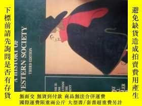 二手書博民逛書店A罕見HISTORY OF WESTERN SOCIETY TH