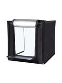 60cm大號攝影棚小型攝影拍照燈箱摺疊套裝柔光背景箱簡易產品拍攝臺道具補光燈 YJT