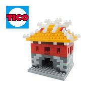 【Tico 微型積木】T-7016 台灣 東門-景福門