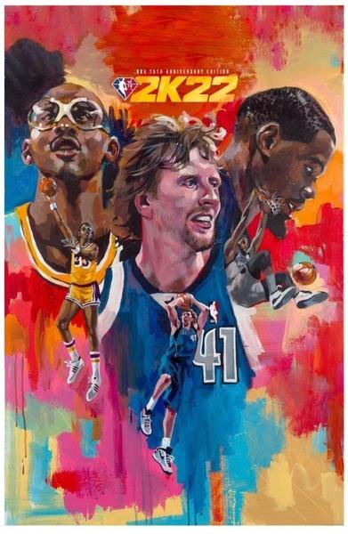 PS5 NBA 2K22 75周年紀念版 中英文國際版