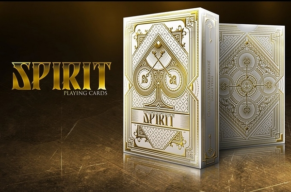 【USPCC撲克】Spirit white playing cards 白色精靈